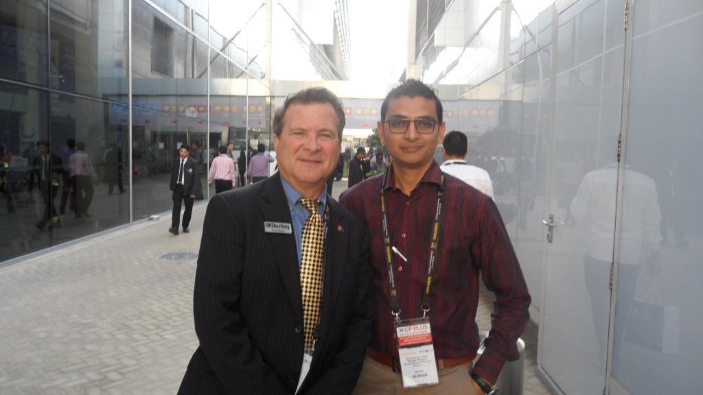 With Mr. Jim Darley (CEO Darley Company-USA)